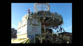 title: Pretty Carousel Ride by the Tour Eiffel Spinning for Kids and Young Adults