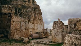 title: Amazing Preserved Ruins of Roman Baalbeck Site