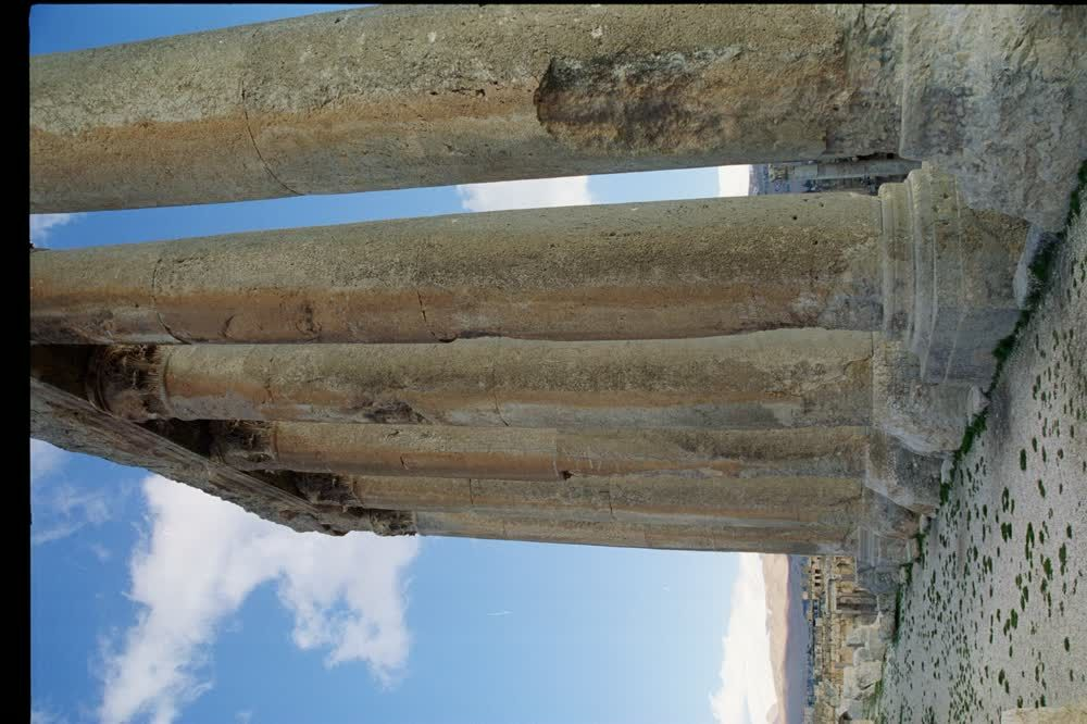 title: Amazing Shot of the Temple s Columns