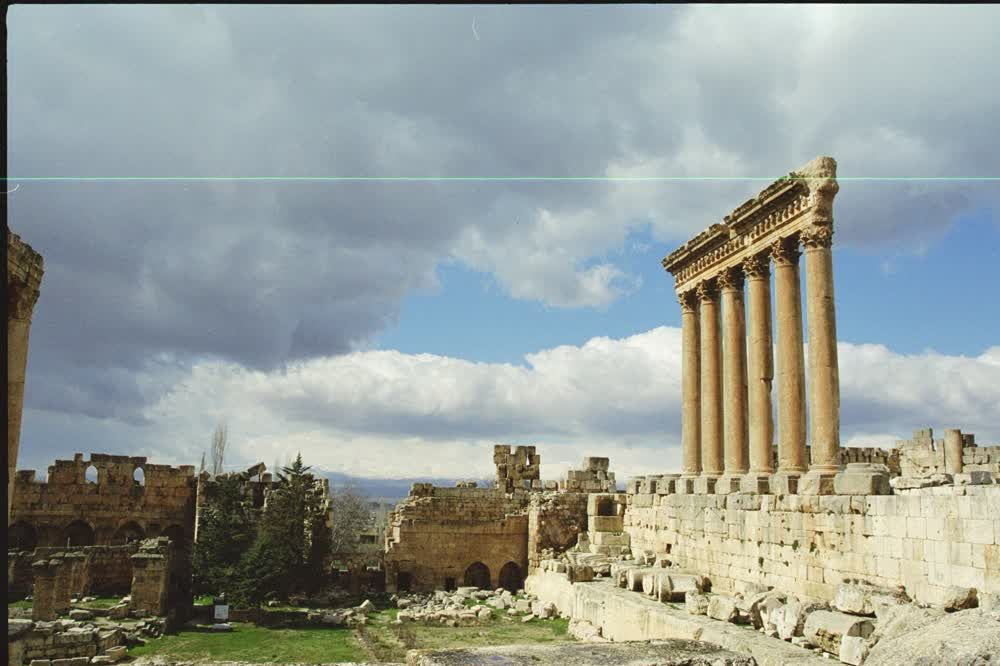 title: Baalbeck Ancient Site of Roman Settlement and Temple of Jupiter