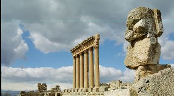 Baalbeck Cool Architecture Ruins