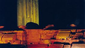 Baalbeck International Festival by the Temple of Jupiter