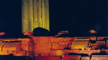 title: Baalbeck International Festival by the Temple of Jupiter