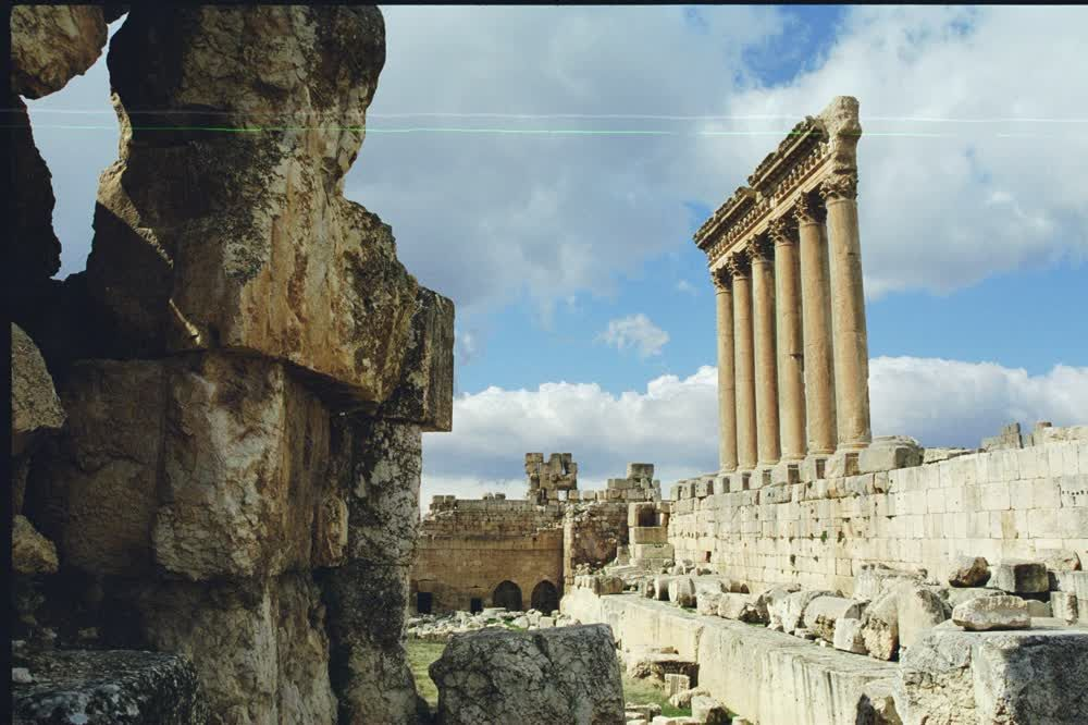 title: Baalbeck Temple of Jupiter Ruins