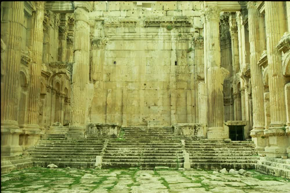 title: Baalbeck Temples and Old Site