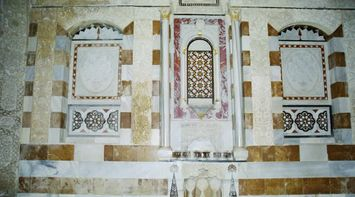 title: Beit Al Dine Painted Stone Walls Interior Palace