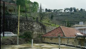 BeitEddine Village on a Rainy Day