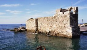 Byblos a thriving ancient port city Lebanon