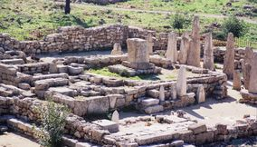 Byblos bearing the marks of numerous civilizations Lebanon
