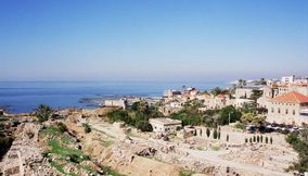 Byblos one of the richest archaeological areas Jbeil Lebanon