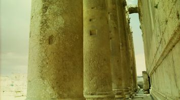 Filtered Photo of Columns in Heliopolis