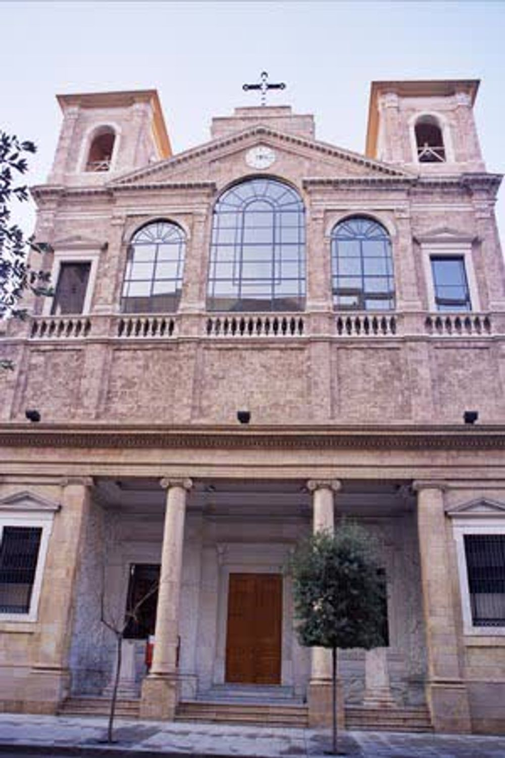title: Historic Church in Downtown Beirut