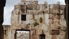 title: Many Places to Explore in Baalbek Roman Ruins