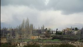 Nearby Village Architecture in Bekaa Valley