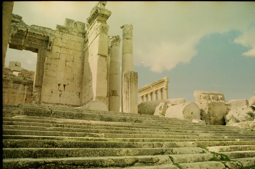 title: Old Roman Site in Baalbeck