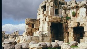 title: Old Stone Monuments Landmark of BEKAA