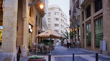 title: Picturesque Peaceful Streets in Downtown