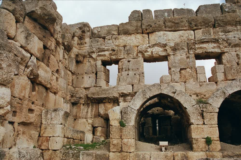 title: Roman Ancient Ruins in Baalbeck Found in Bekaa Valley