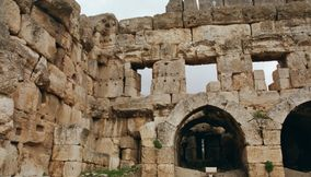 Roman Ancient Ruins in Baalbeck Found in Bekaa Valley