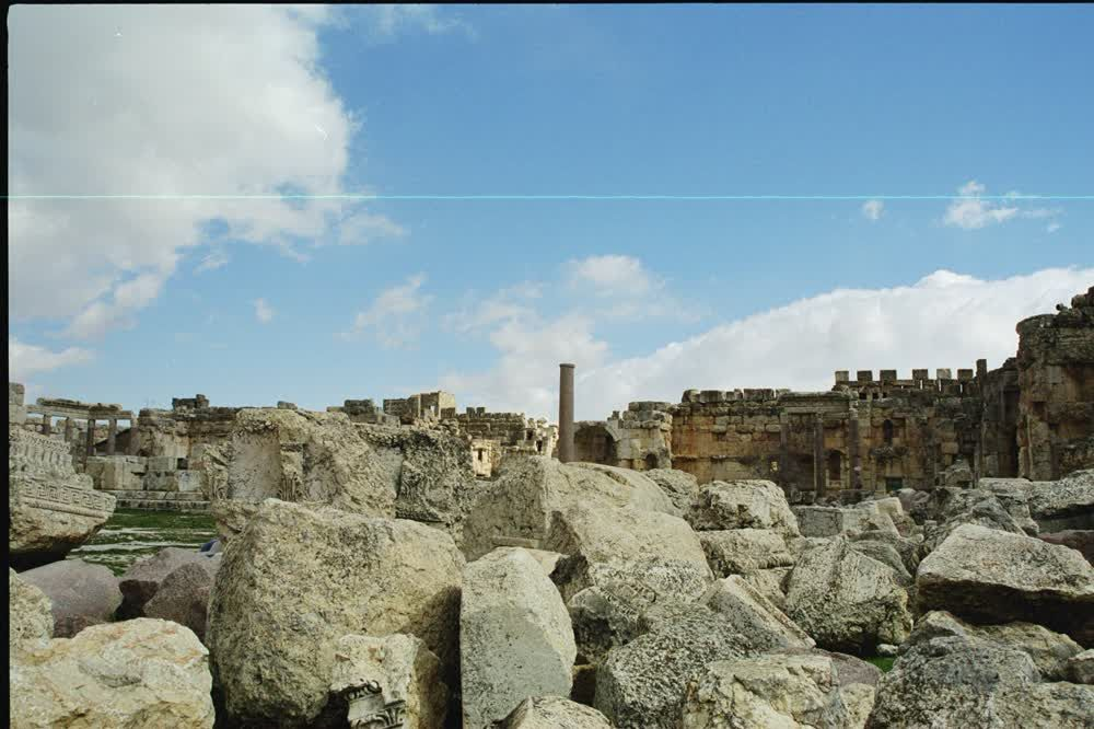 title: Stone Ruins Rubble on Site Heliopolis