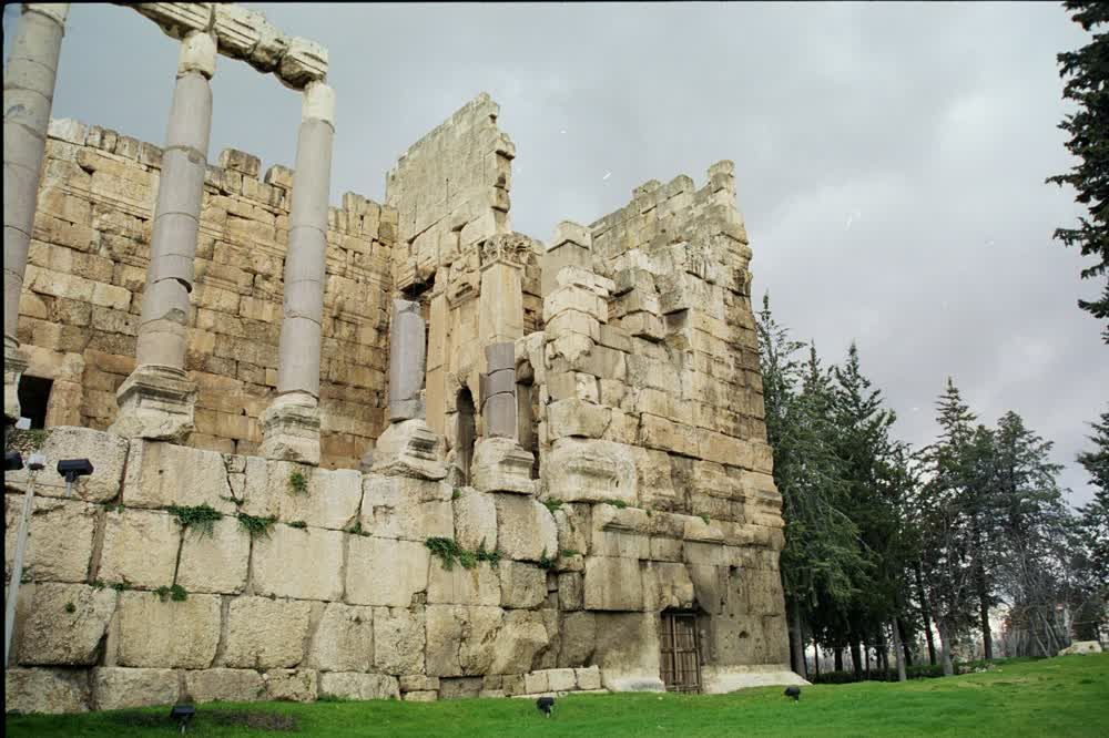title: Stone Ruins of Baalbeck Exploring