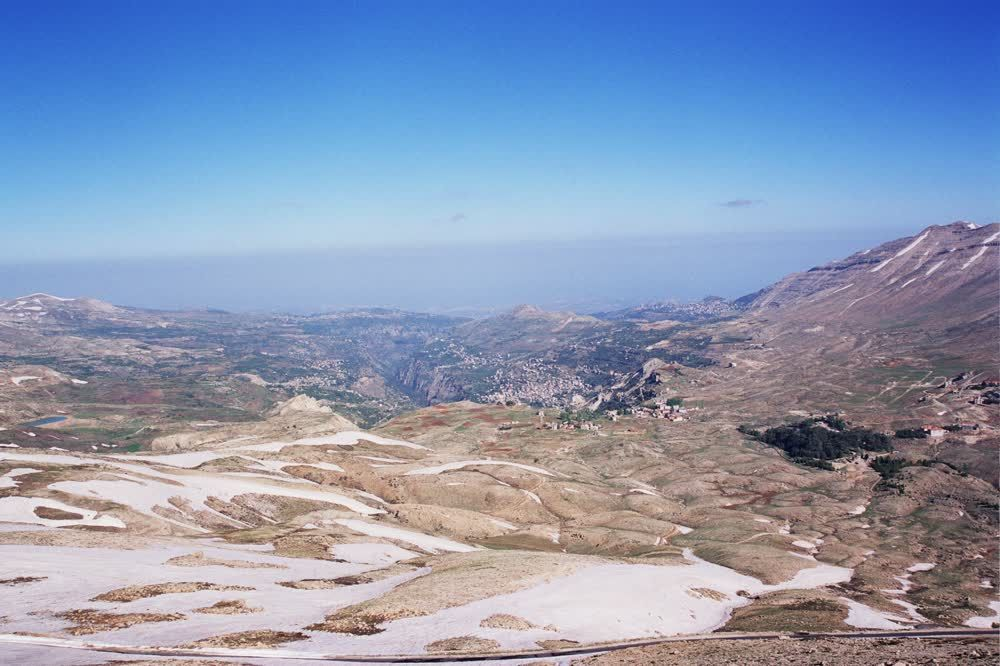 title: The Bcharreh Area of the Cedars of Lebanon