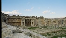 title: The Great Court of Baalbeck