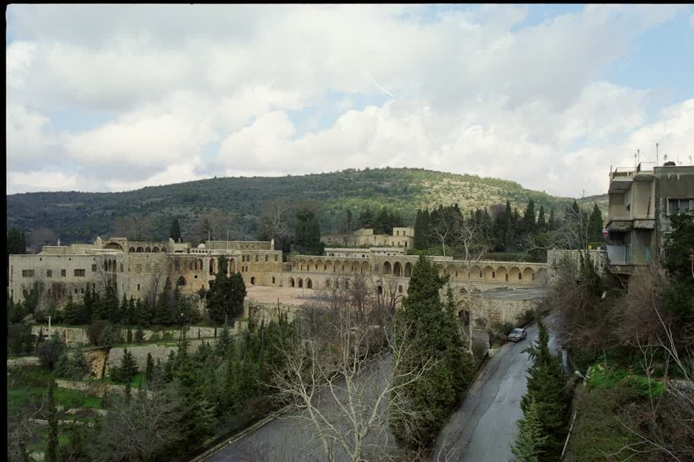 The Huge Palace Beit al Dine in lebanon with its Gardens