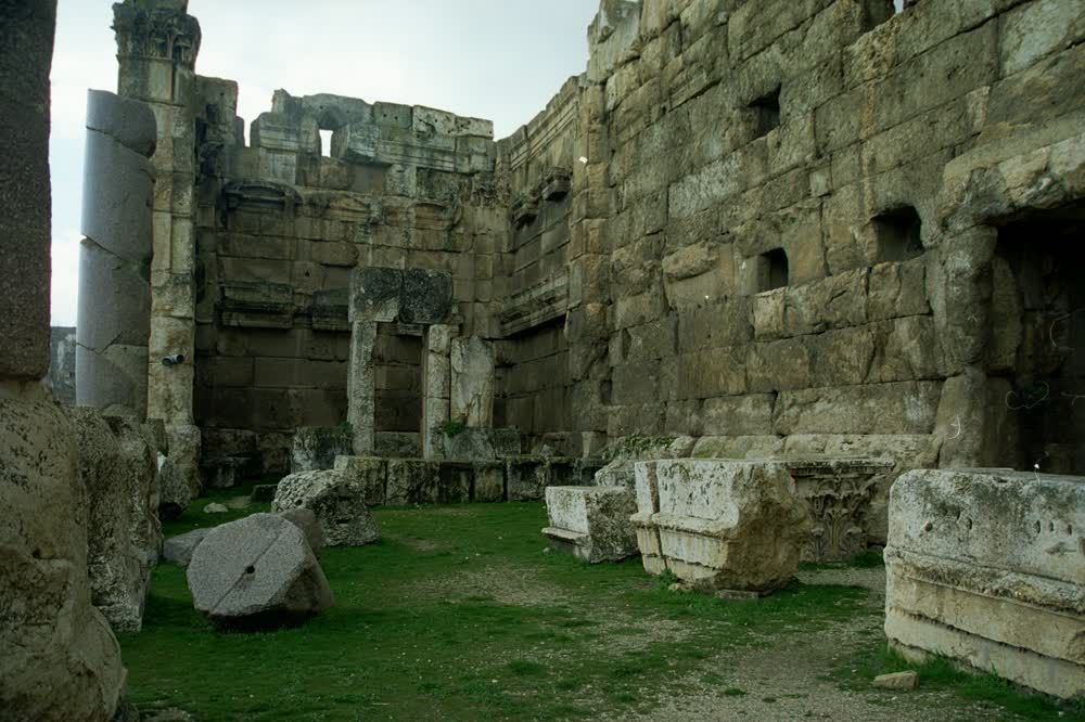 The Ruins of Baalbeck