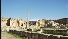 The Temple Complex Ruins in Baalbek