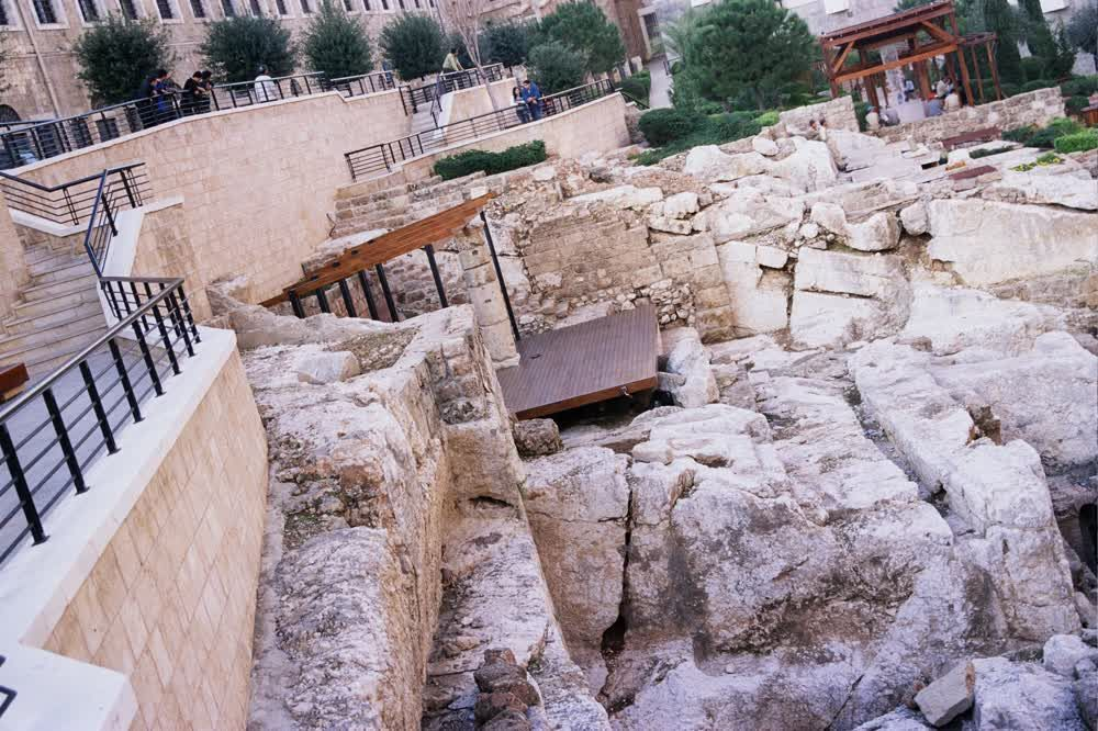 title: The preserved Ancient Ruins of Roman Baths in lebanon