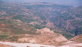 Typical Mountain Views in Lebanon