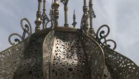 title: Copper design Morocco Mausoleum Mohammed V Rabat
