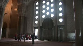 Morocco Casablanca grand mosque