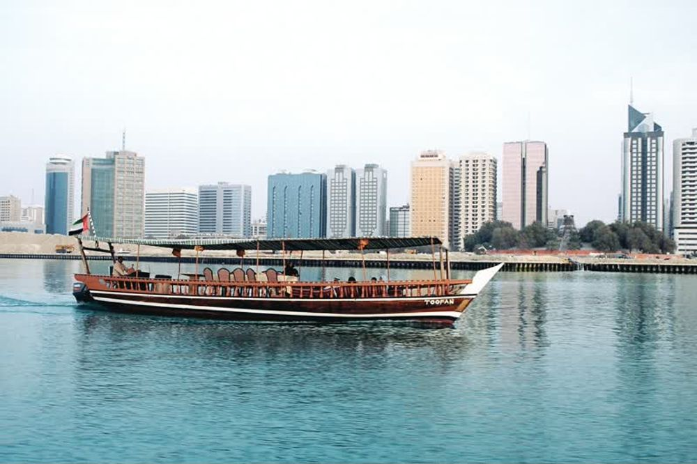 Traditional Wooden Tour Boat