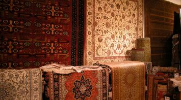 title: Beautiful Handmade Persian Rugs and Carpets in Souk Madinat Jumeirah Dubai UAE
