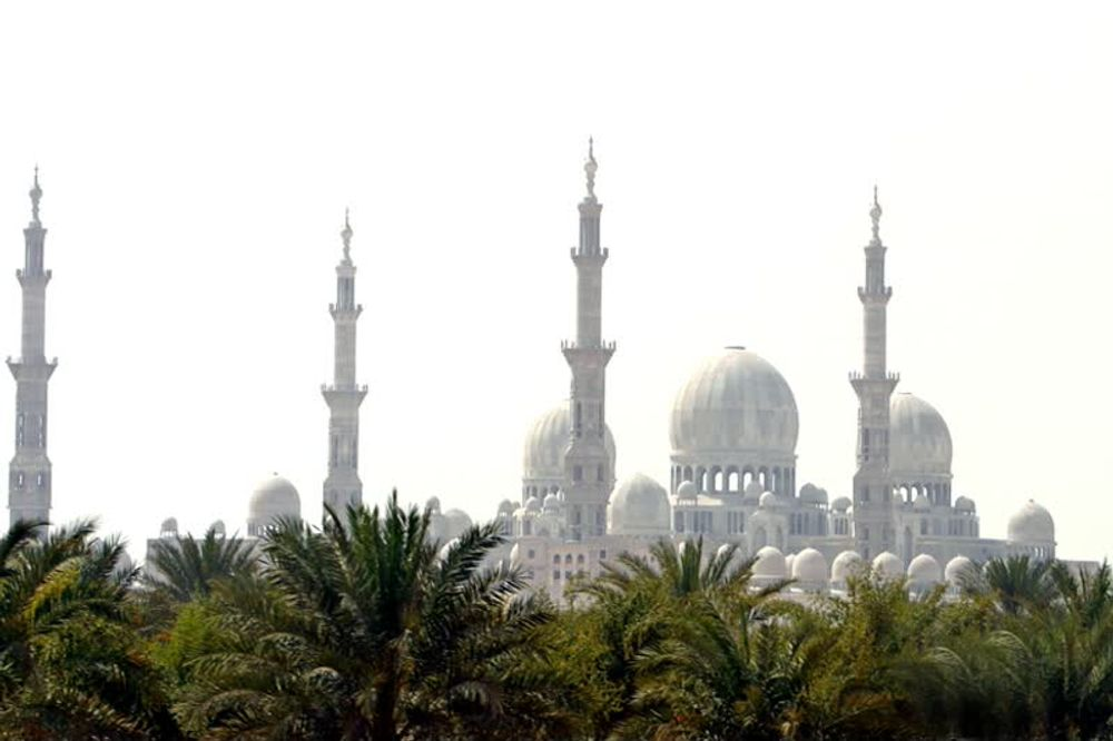 title: White Mosque of Abu Dhabi