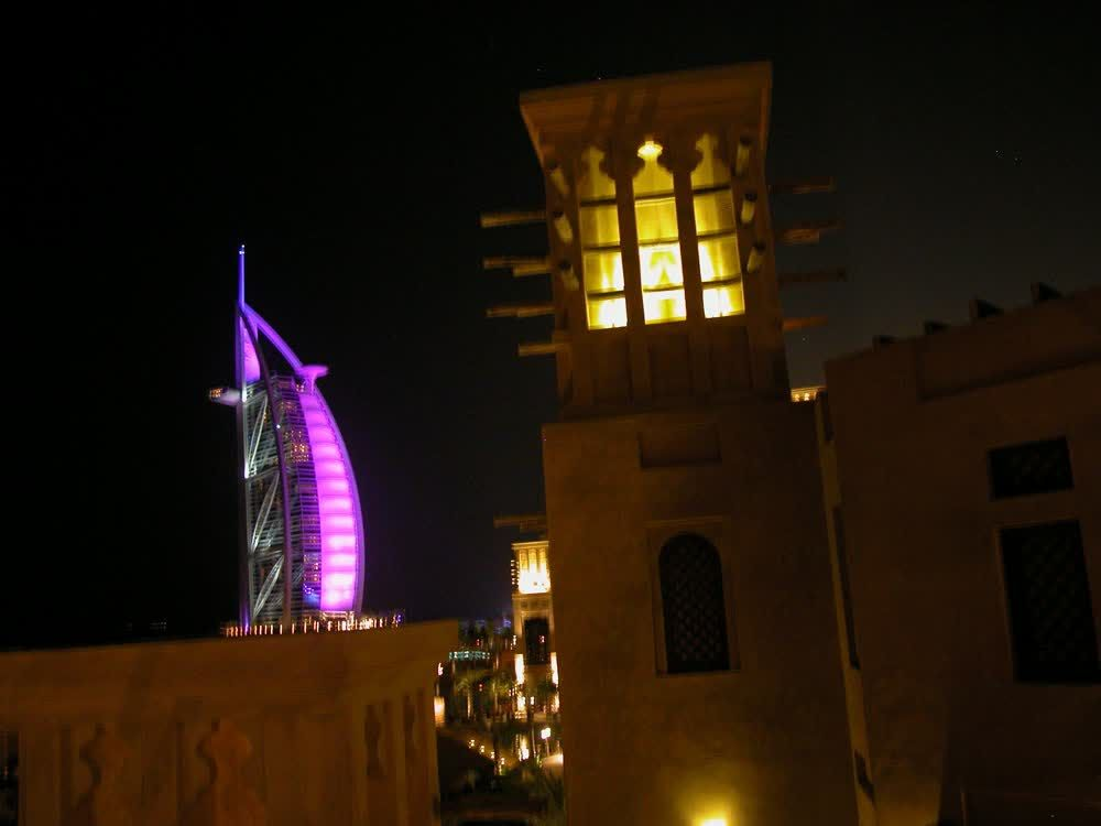 title: Tower Architecture at Night