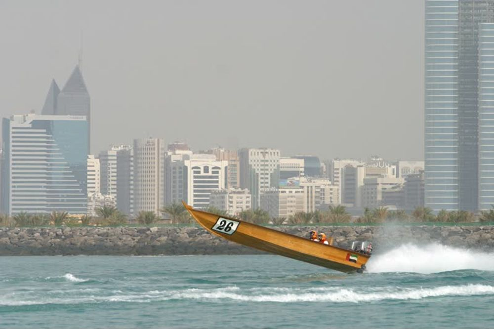 Boat Race on the Gulf Waters