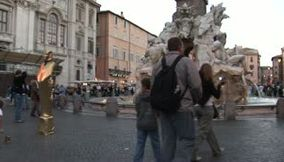 title: Piazza Navona  Golden Pharaoh