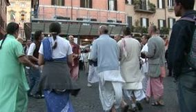 title: Piazza Navona gypsy troupe
