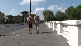 title: Rome walking Ponte Marguerita