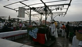 title: Delicious Food Cooked for the People in the Night Market