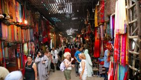 title: Tourism and Shopping in the Famous Marrakesh Souks