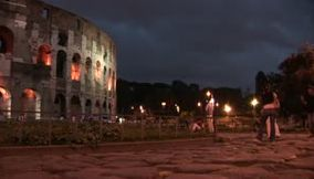 Colosseo at night Colosseum  Le Colisee