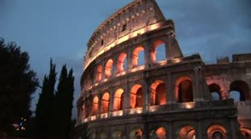 title: Colosseo night Colosseum  Le Colisee
