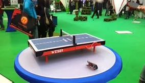 title: Germany Hanover micro table tennis so cute