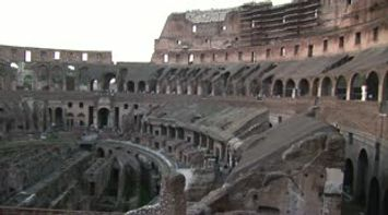 title: Inside the Colosseum Le Colisee