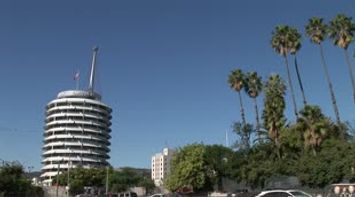 title: LA Capitol Records Hollywood