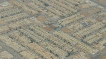 title: Landing in Riyadh Airport in the Airplane